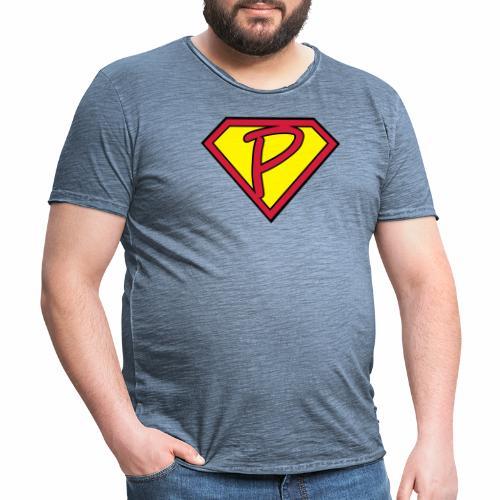 superp 2 - Männer Vintage T-Shirt