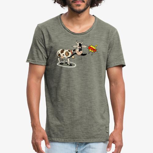 Vaquita - Camiseta vintage hombre