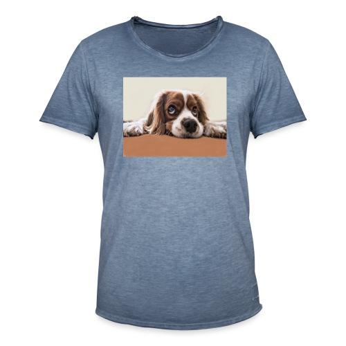 Der Hund - Männer Vintage T-Shirt