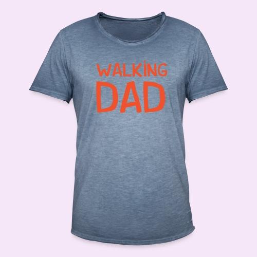 Vierdaagse Nijmegen - Walking Dad RED - Mannen Vintage T-shirt