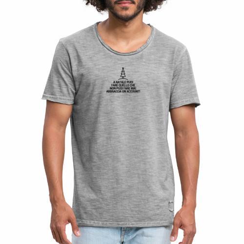 A NATALE PUOI - Maglietta vintage da uomo