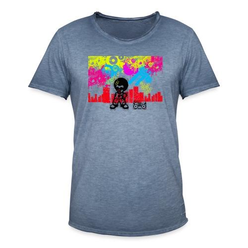 Magliette personalizzate bambini Dancefloor - Maglietta vintage da uomo