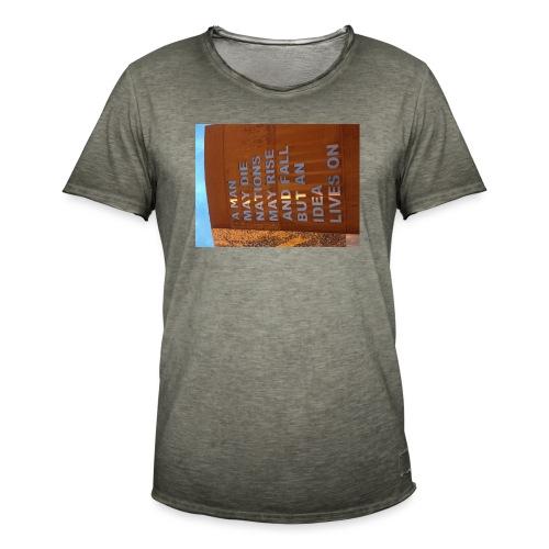 An Idea Lives On - Men's Vintage T-Shirt