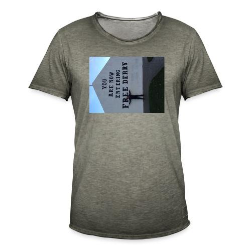 free derry - Men's Vintage T-Shirt