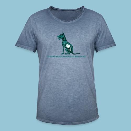 T-shirt pour homme imprimé Chien au Rayon-X - T-shirt vintage Homme