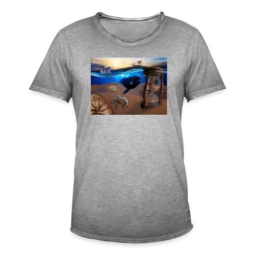 Wodne Przemyślenia - Koszulka męska vintage
