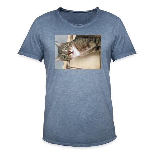 Kotek - Koszulka męska vintage