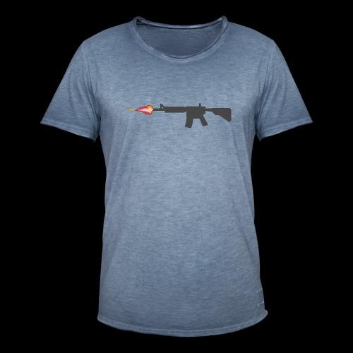csgo M4A4 - Vintage-T-shirt herr