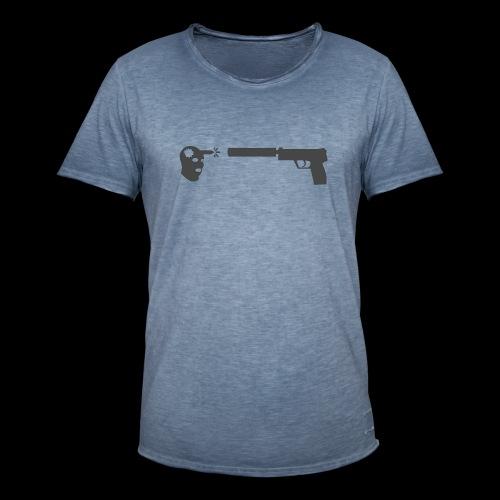 csgo usp headshot - Vintage-T-shirt herr