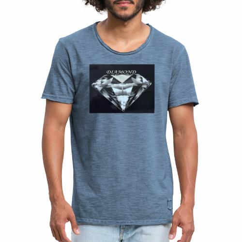 Diamond - Vintage-T-shirt herr