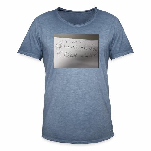 Anton - Vintage-T-shirt herr