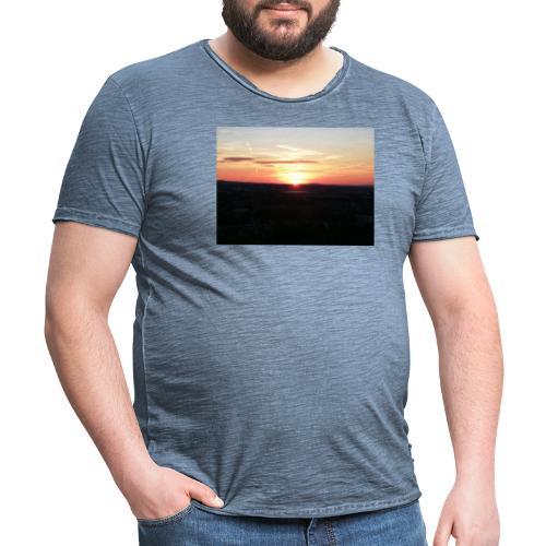 sunset - Männer Vintage T-Shirt