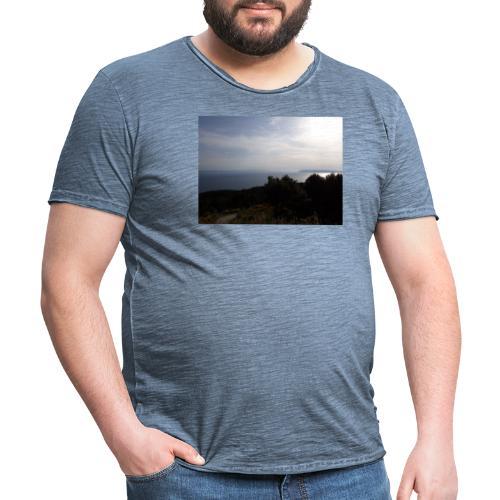 Croatia, Baska Voda - Vintage-T-shirt herr