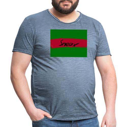 Original Sneax - Männer Vintage T-Shirt