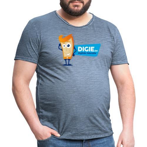 Digie.be - Mannen Vintage T-shirt