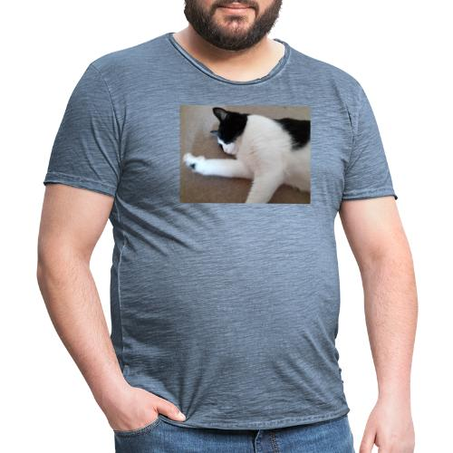 Chill like a cat! - Men's Vintage T-Shirt