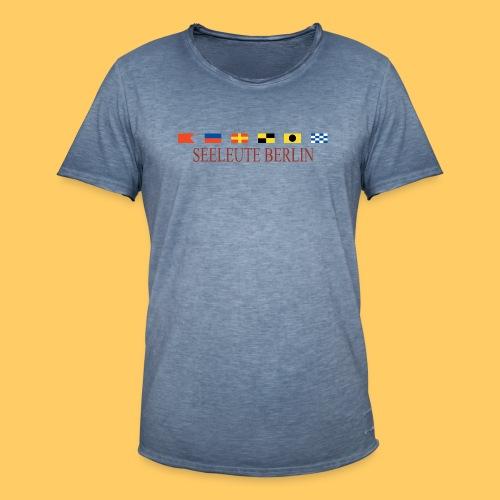 Maske Seeleute Berlin - Männer Vintage T-Shirt
