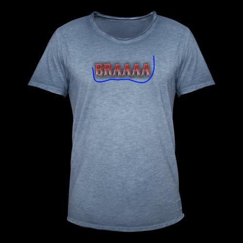 Braaaa - Männer Vintage T-Shirt