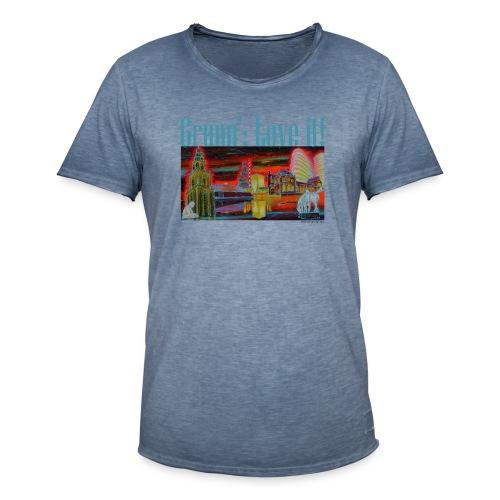 Grunn': love it! - Mannen Vintage T-shirt