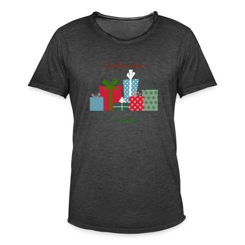 Le plus beau cadeau - T-shirt vintage Homme