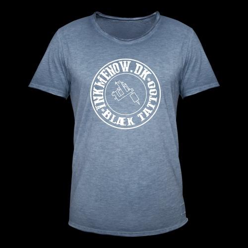 logo hvid png - Herre vintage T-shirt