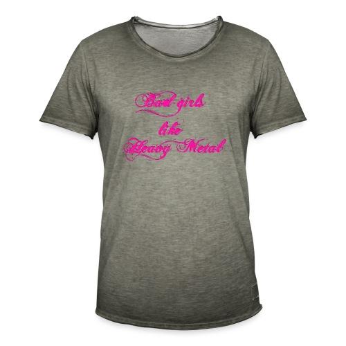 Bad-Girls - Männer Vintage T-Shirt