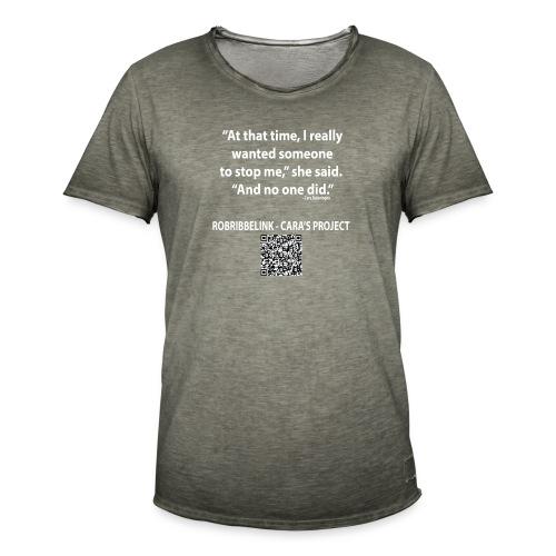 Caras Project fan shirt - Men's Vintage T-Shirt