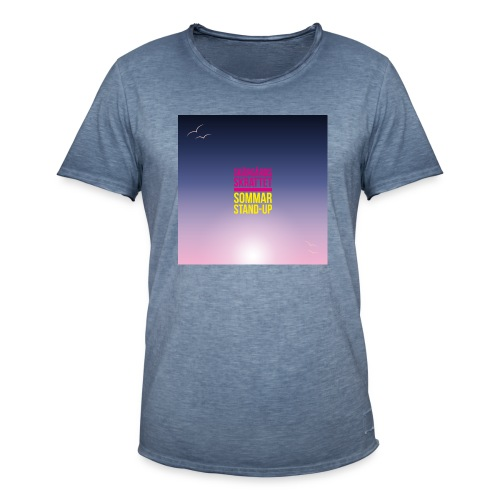 T-shirt dam Skärgårdsskrattet - Vintage-T-shirt herr