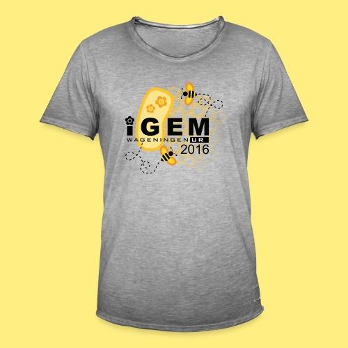 Logo - shirt men - Mannen Vintage T-shirt