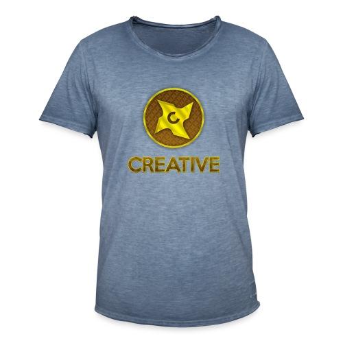Creative logo shirt - Herre vintage T-shirt