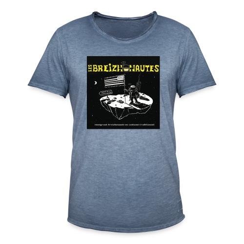 Un breizhonaute - T-shirt vintage Homme
