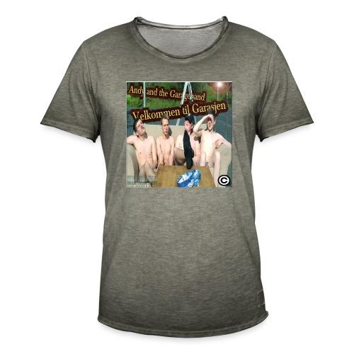 Velkommen Til Garasjen - Vintage-T-skjorte for menn