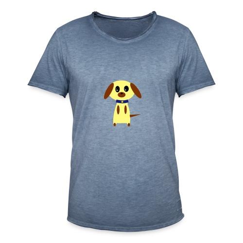 Dog Cute - Männer Vintage T-Shirt