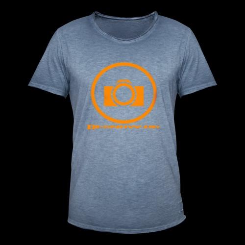 Orange 2 png - Herre vintage T-shirt