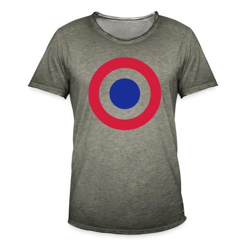 FFI Logo 2 manche - T-shirt vintage Homme