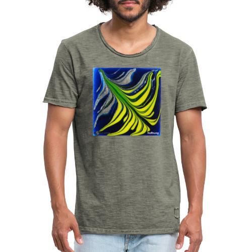 TIAN GREEN Mosaik DK037 - Hoffnung - Männer Vintage T-Shirt