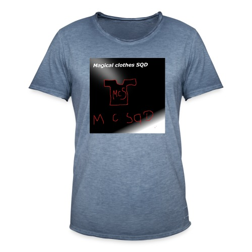 baner - Koszulka męska vintage