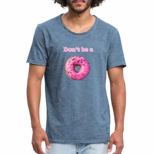Donut - Men's Vintage T-Shirt