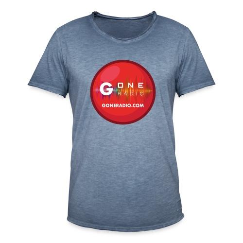 G ONE RADIO.COM - T-shirt vintage Homme