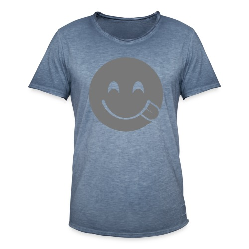 emoji, Smiliy fun - Männer Vintage T-Shirt
