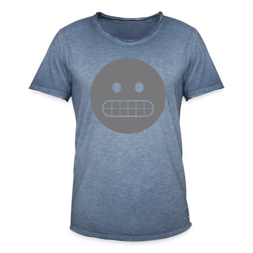 emoji, Smiliy - Männer Vintage T-Shirt