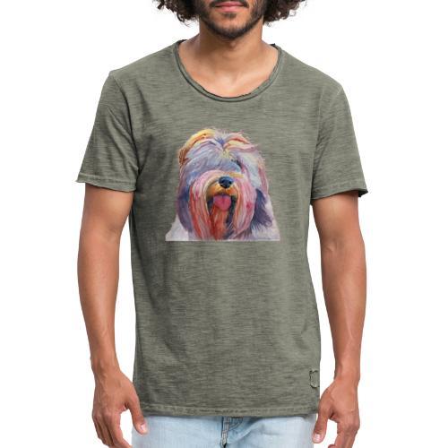schapendoes - Herre vintage T-shirt