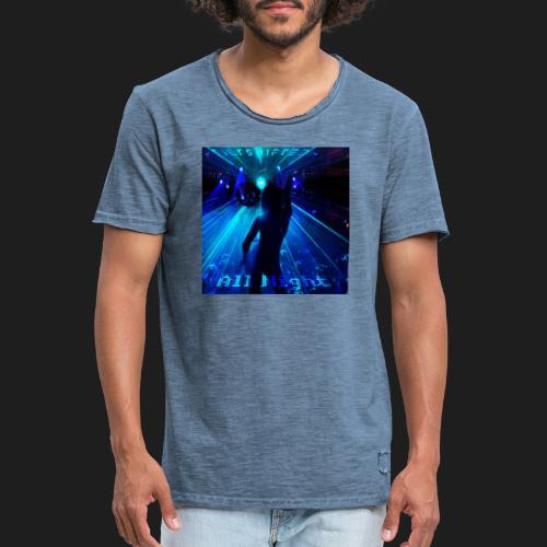 All Night - Miesten vintage t-paita