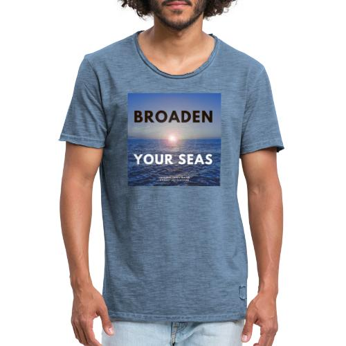James Water I BRODEN YOUR SEAS Series - T-shirt vintage Homme