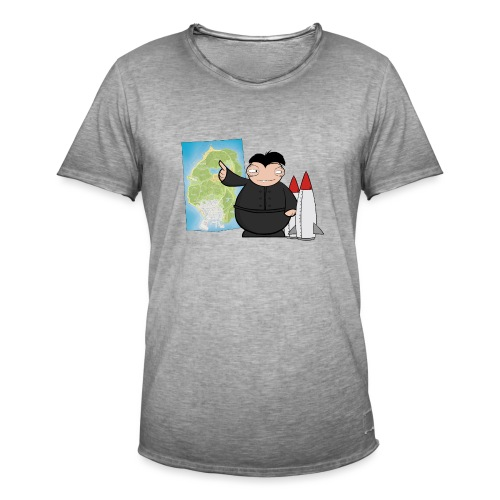 Happy Dictator. - Camiseta vintage hombre
