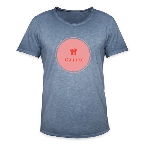 logo transparent - Miesten vintage t-paita