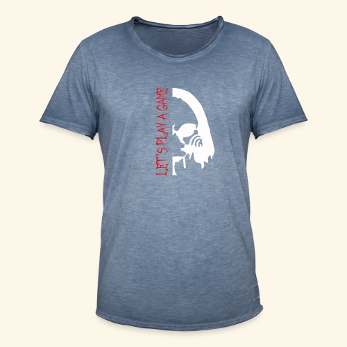 Let's play a game - T-shirt vintage Homme