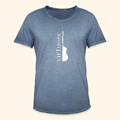 Guitare virtuose - T-shirt vintage Homme