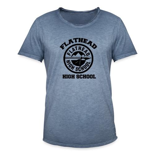 Flathead High School - T-shirt vintage Homme