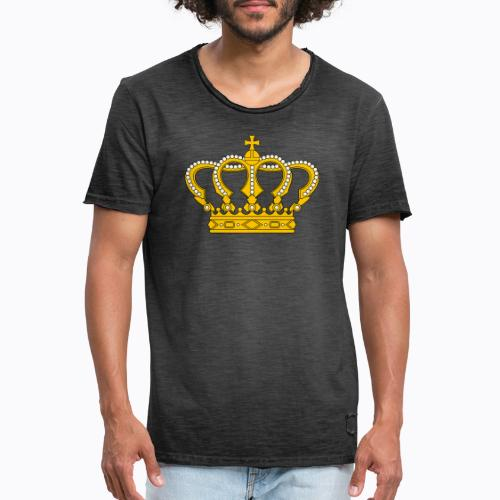 Golden crown - Men's Vintage T-Shirt